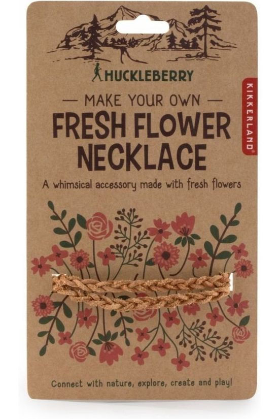 Kikkerland Gadget Hb Fresh Flower Necklace Kameelbruin