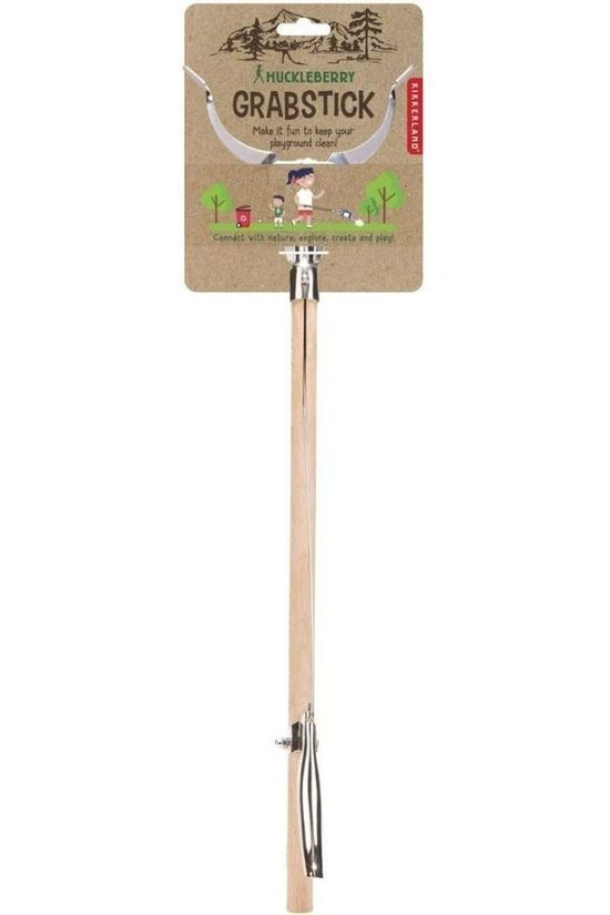 Kikkerland Gadget Hb Grab Stick light brown/silver