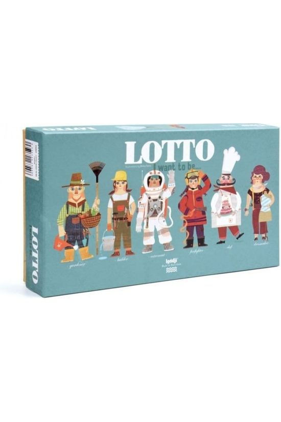 Londji Jeu I Want To Be Lotto Pas de couleur / Transparent