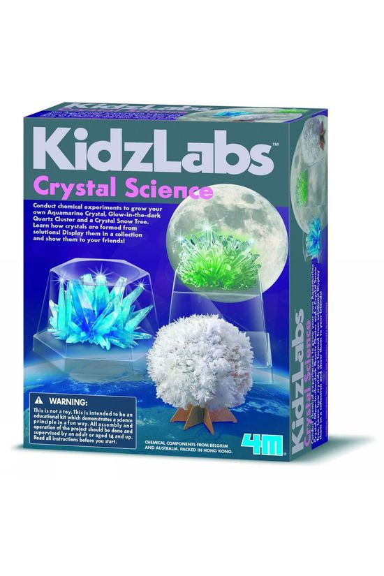 4M Jeu Crystal Science Pas de couleur / Transparent