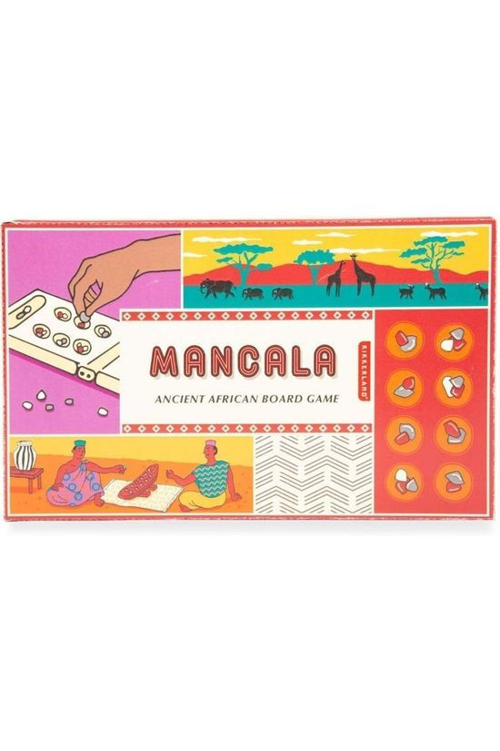 Kikkerland Game Mancala No colour / Transparent