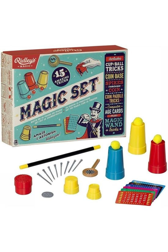 Ridley's Game Magic Set Of 15 Tricks No colour / Transparent