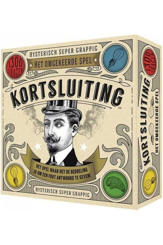 Hygge Games Game Kortsluiting No colour / Transparent