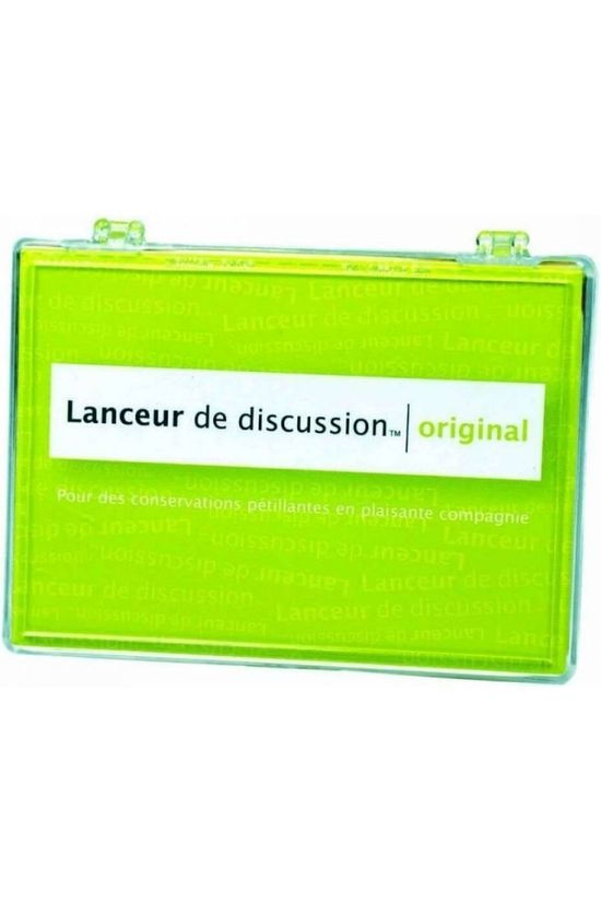Hygge Games Jeu Lanceur De Discussion Original Pas de couleur / Transparent