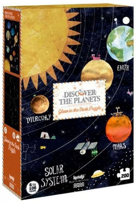 Londji Game Discover The Planets Puzzle No colour / Transparent