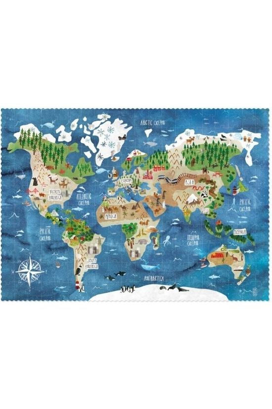 Londji Jeu Discover The World Puzzle Pas de couleur / Transparent