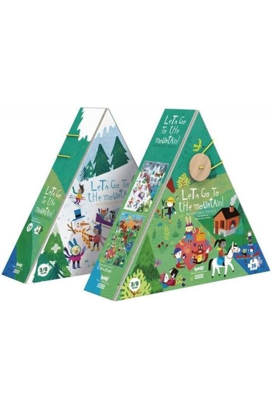 Londji Game Let's Go To The Mountain Puzzle No colour / Transparent
