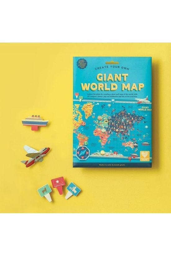 Clockwork Soldier Jeu Create Your Own Giant World Map Pas de couleur / Transparent