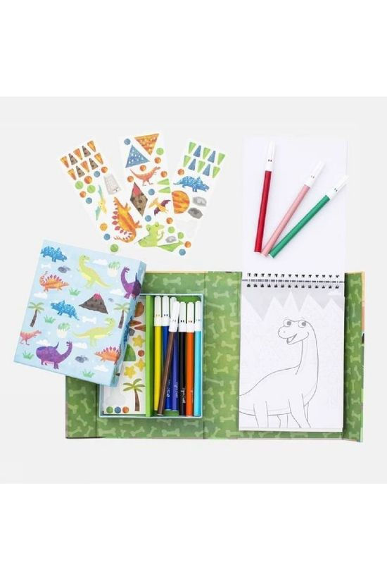 Tiger Tribe Jeu Colouring Sets Dinosaur Pas de couleur / Transparent