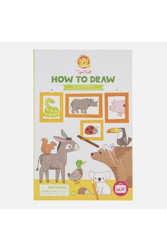 Tiger Tribe Spel How To Draw Wild Kingdom Geen kleur / Transparant