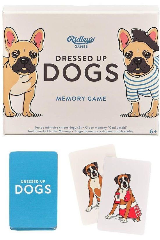 Ridley's Spel Dressed Up Dogs Memory Game No colour / Transparent
