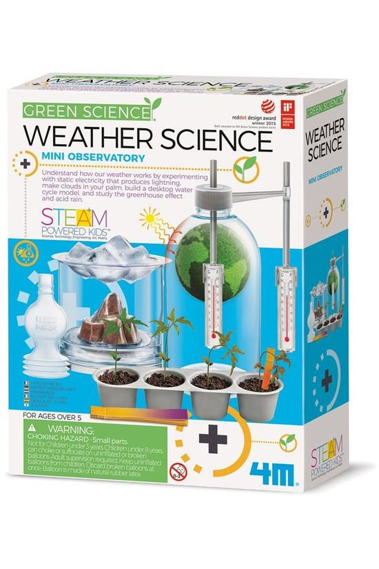 4M Spel Weather Science Geen kleur