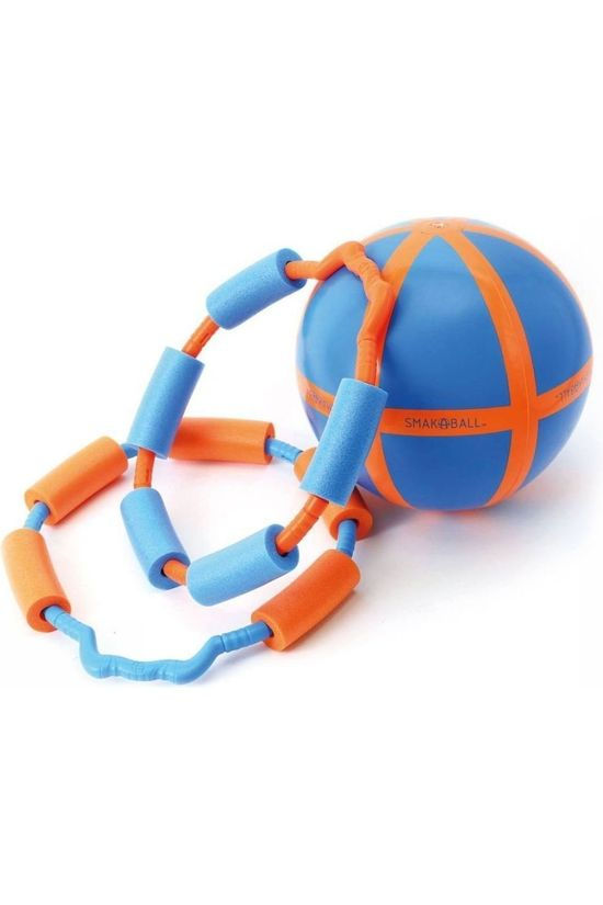 Schildkröt Jouets Smak-A-Ball Orange/Bleu Moyen
