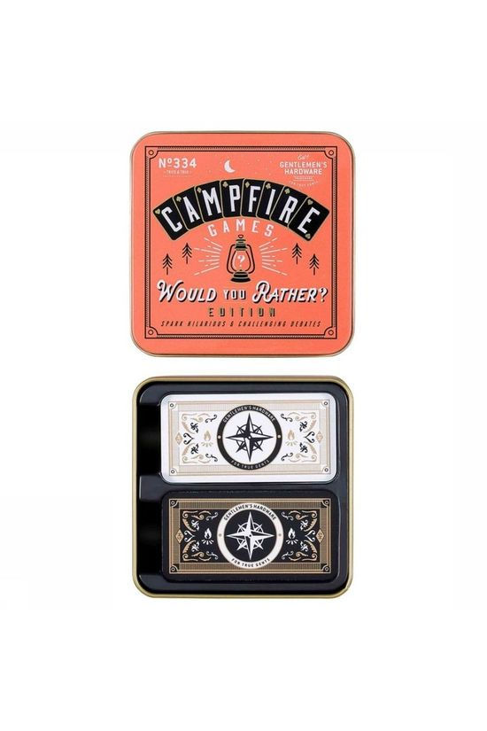 "Gentlemen's Hardware Toys Campfire ""Would You Rather"" Game No colour / Transparent"