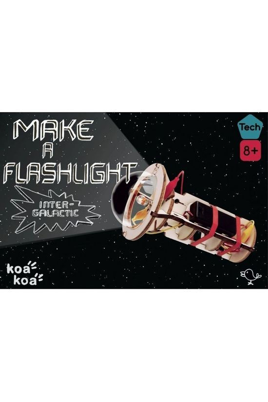 Koa Koa Speelgoed Make A Flashlight Geen kleur / Transparant