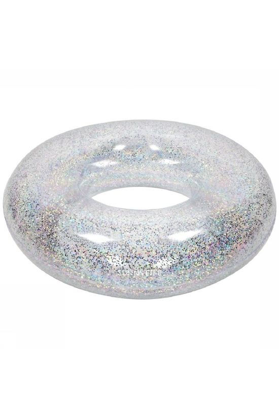 Sunnylife Jouets Pool Ring Glitter Argent