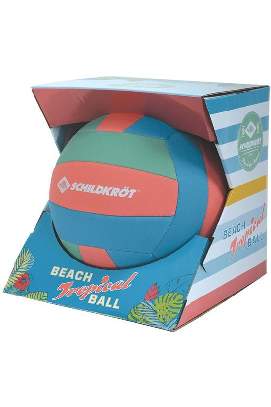 Schildkröt TOYS SCHI BEACHBALL TROPICAL light blue/light red