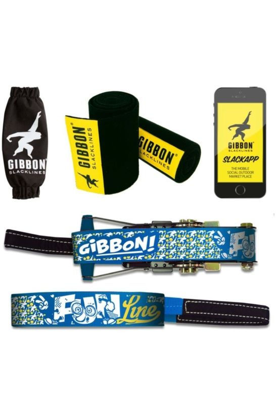 Gibbon Toy Funline Treewear Set mid blue/white
