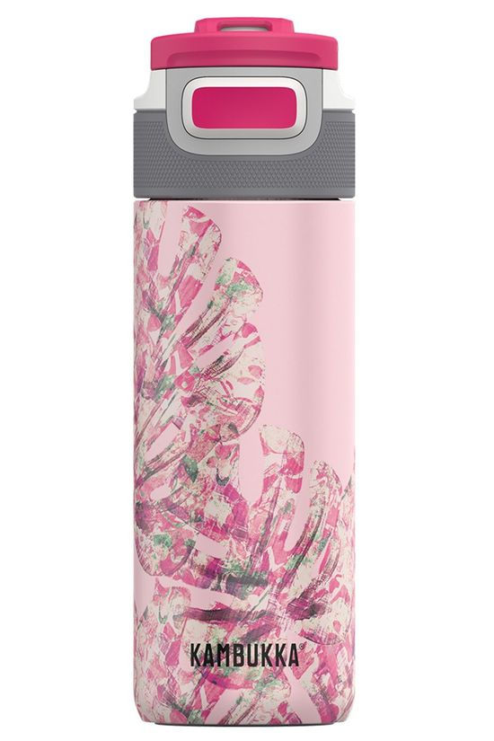 Kambukka Drink Bottle Elton Insulated 500ml Light Pink/Ass. Flower