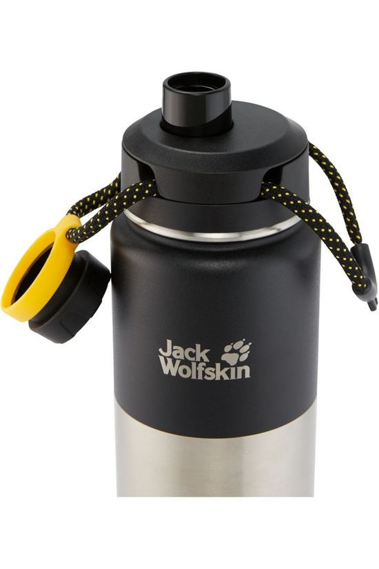 Jack Wolfskin Drink Bottle Karoo 0.75 black/silver