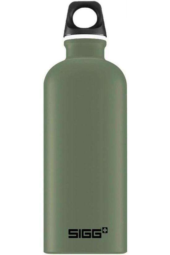 Sigg Drinkfles Traveller 0.6L Middenkaki