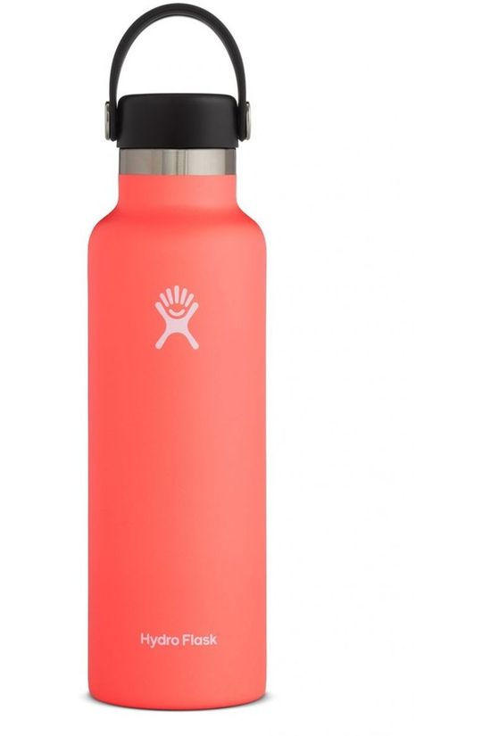 Hydro Flask Isolatiefles 21oz/621ml Standard Mouth Lichtrood