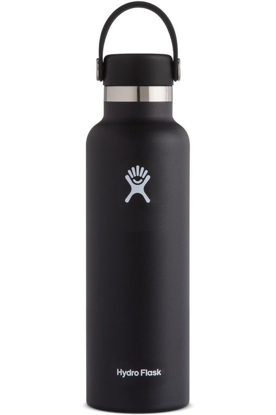 Hydro Flask Gourde Isotherme 21oz/621ml Standard Mouth Noir
