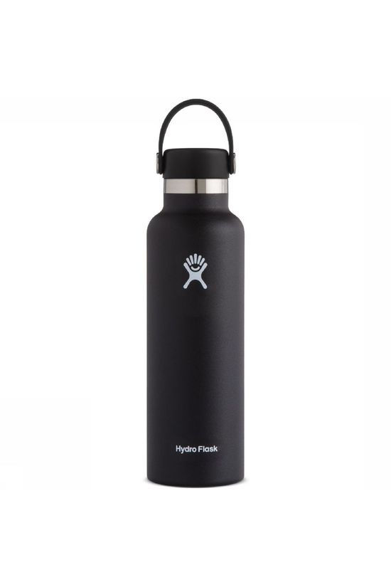 Hydro Flask Isolatiefles 21oz/621ml Standard Mouth Zwart