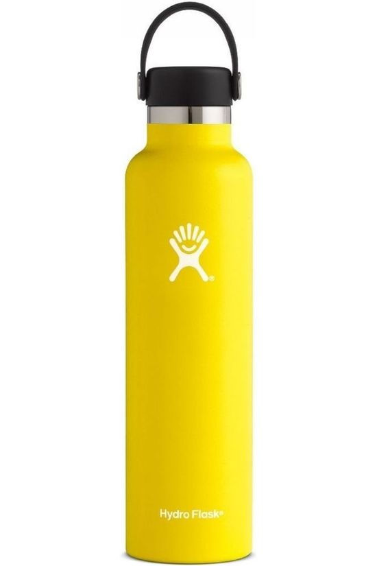 Hydro Flask Isolatiefles 24oz/709ml Standard Mouth Donkergeel
