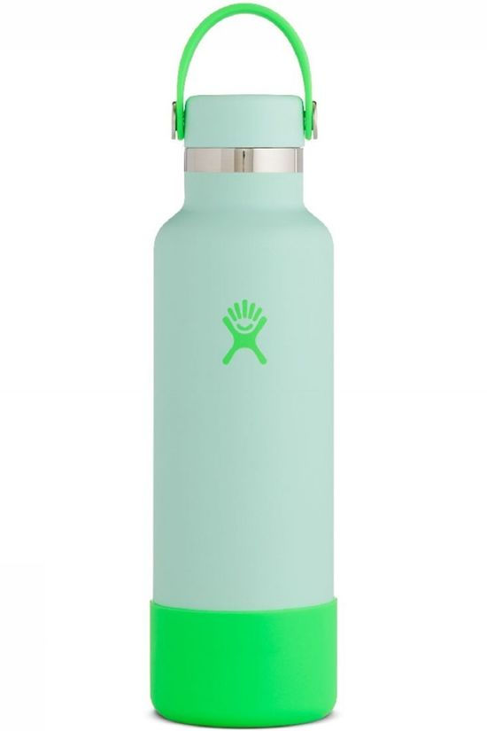 Hydro Flask Gourde 21Oz/621ml Standard Flex Cap And Boot Neon Vert Clair