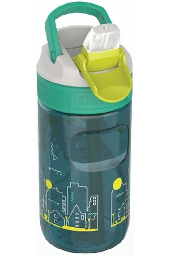 Kambukka Drinkfles Lagoon 400Ml Kids Middengroen/Middenblauw