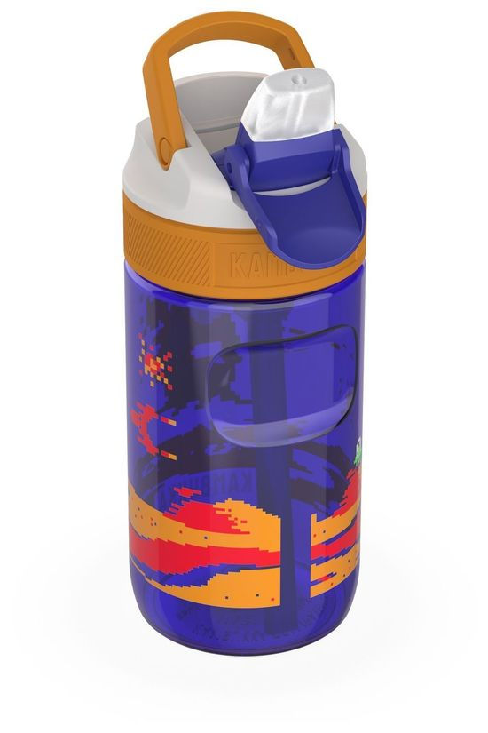 Kambukka Gourde Lagoon 400Ml Kids Pourpre/Orange