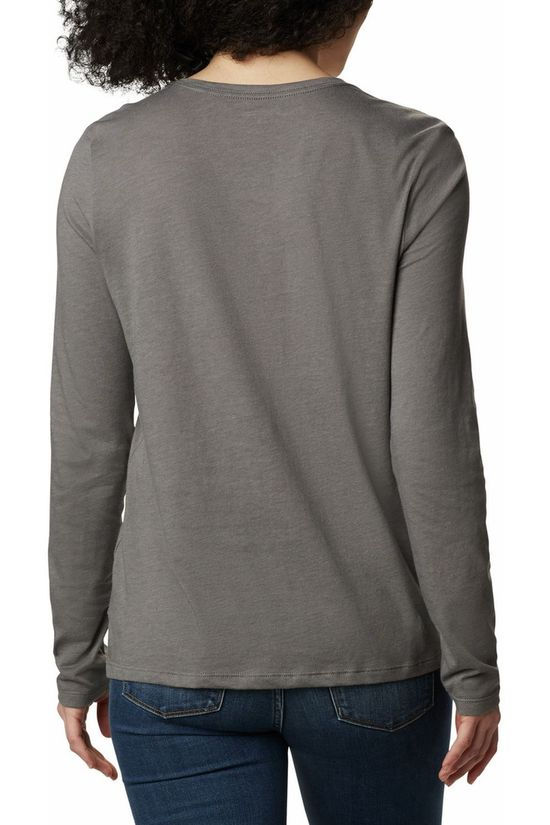 Columbia T-Shirt Autumn Trek Relaxed Middengrijs/Assorti / Gemengd