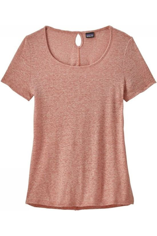 Patagonia T-Shirt Airy Scoop Salmon pink