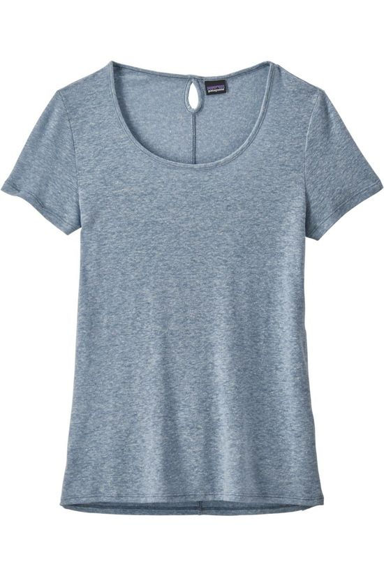 Patagonia T-Shirt Airy Scoop Bleu