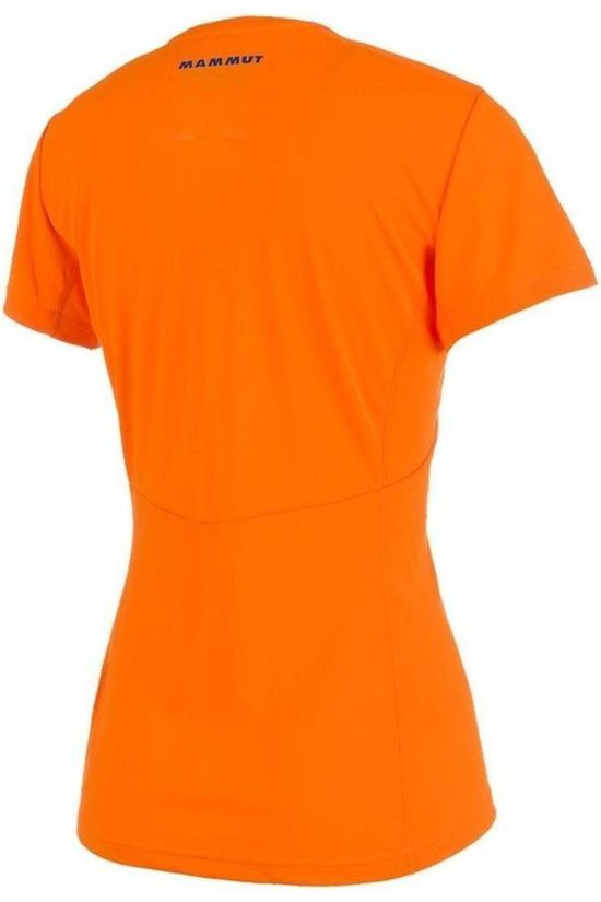 Mammut T-Shirt Moench Light Oranje/Blauw