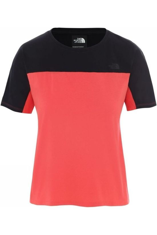 The North Face T-Shirt North Dome Rouge/Noir