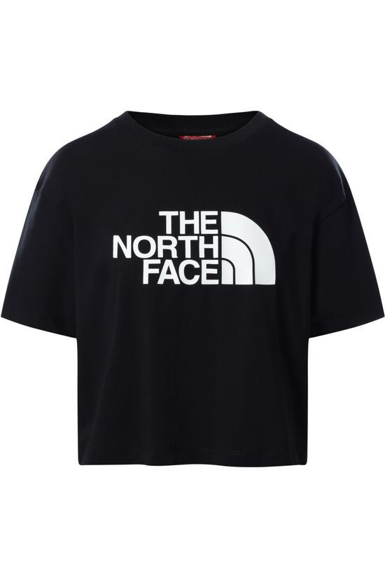 The North Face T-Shirt Cropped Easy Noir/Logo