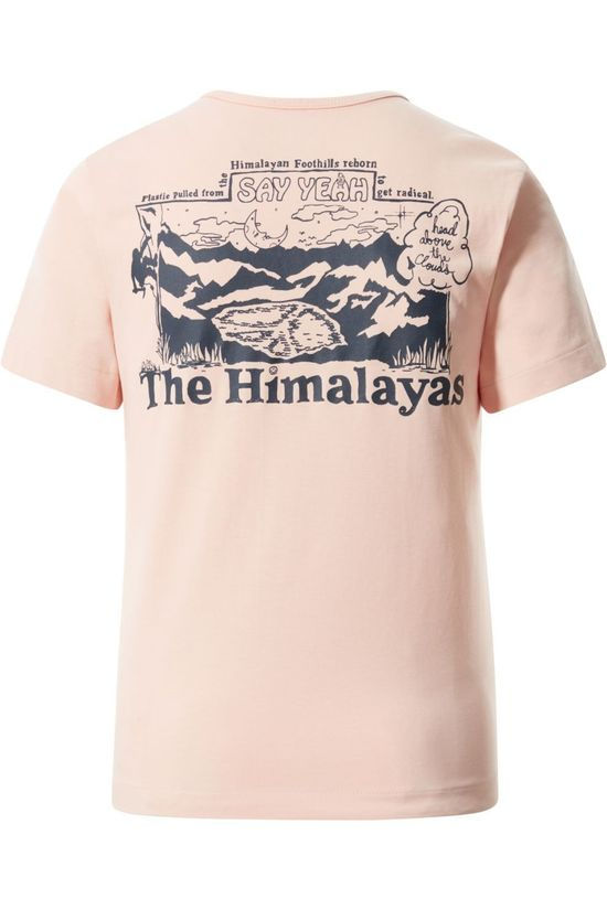 The North Face T-Shirt Himalayan Bottle Source light pink