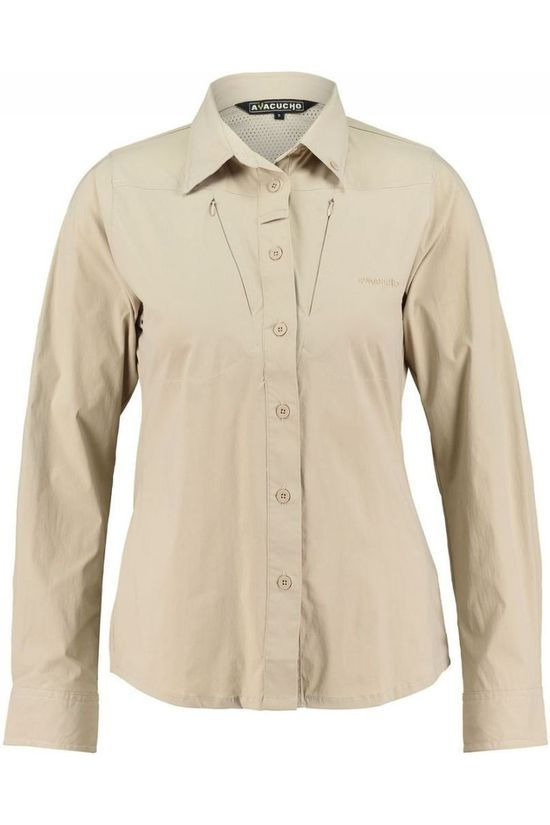 Ayacucho Chemise Equator Stretch Brun Sable