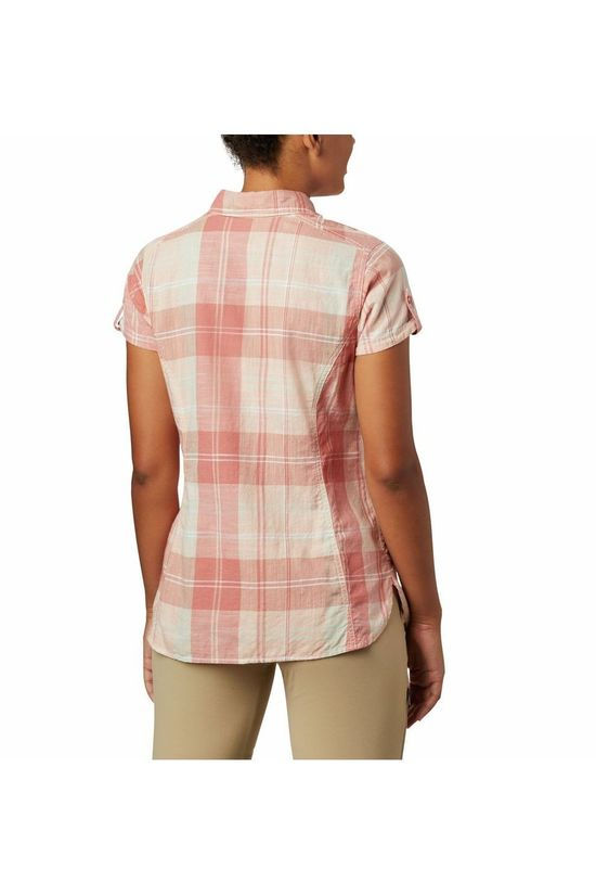 Columbia Shirt Camp Henry II Mid Pink/Ass. Geometric