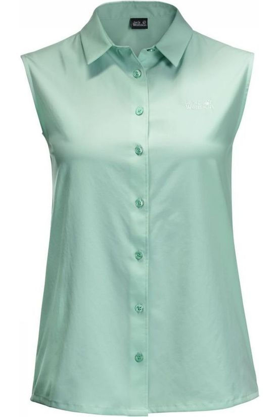 Jack Wolfskin Shirt Sonora Sleeveless light green
