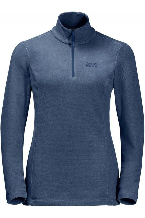 Jack Wolfskin Fleece Arco Half-Zip mid blue