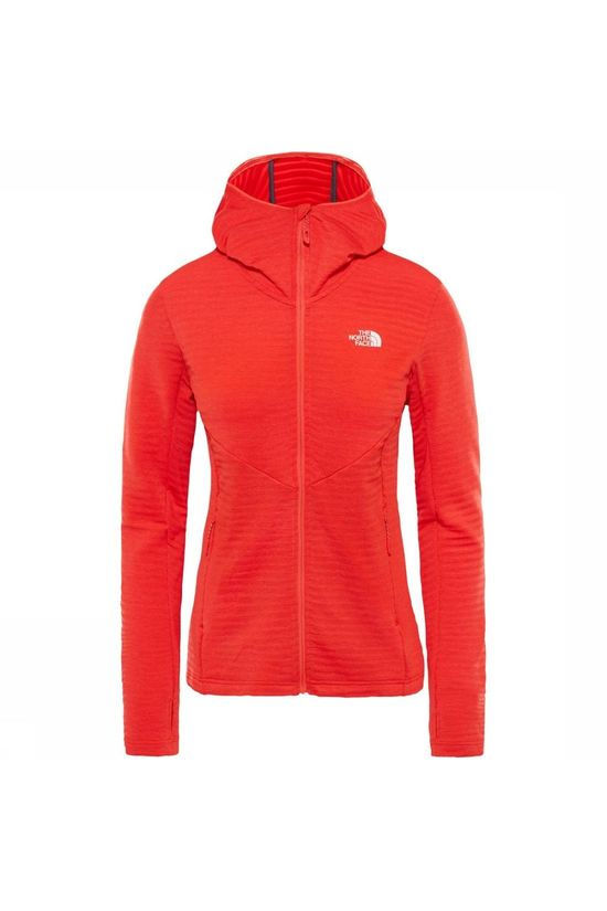 The North Face Fleece Impendor Light Hoody red