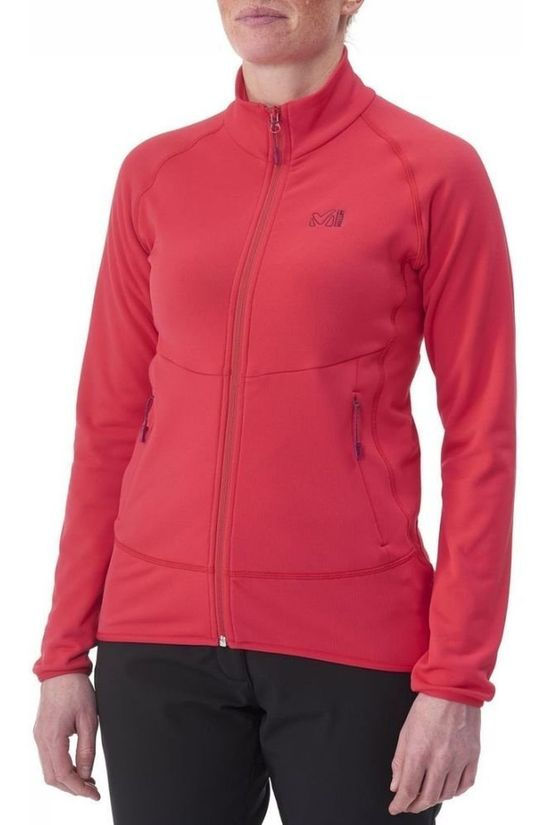 Millet Fleece Techno Stretch red