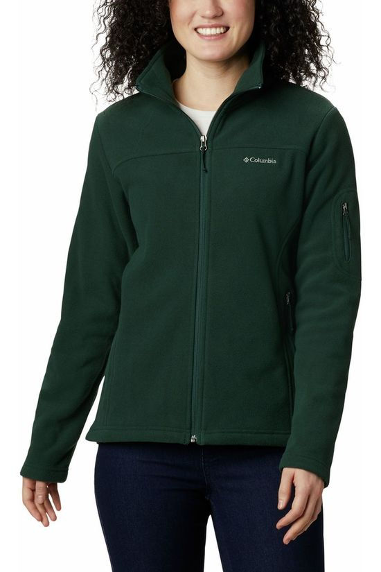 Columbia Fleece Fast Trek II Donkergroen