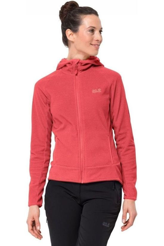 Jack Wolfskin Polaire Arco Rouge Clair