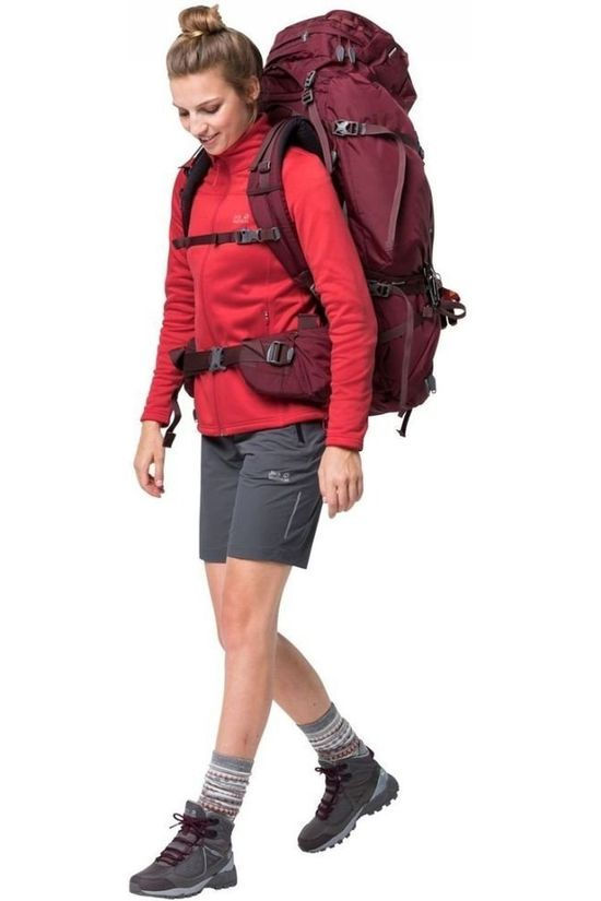 Jack Wolfskin Fleece Savo light red