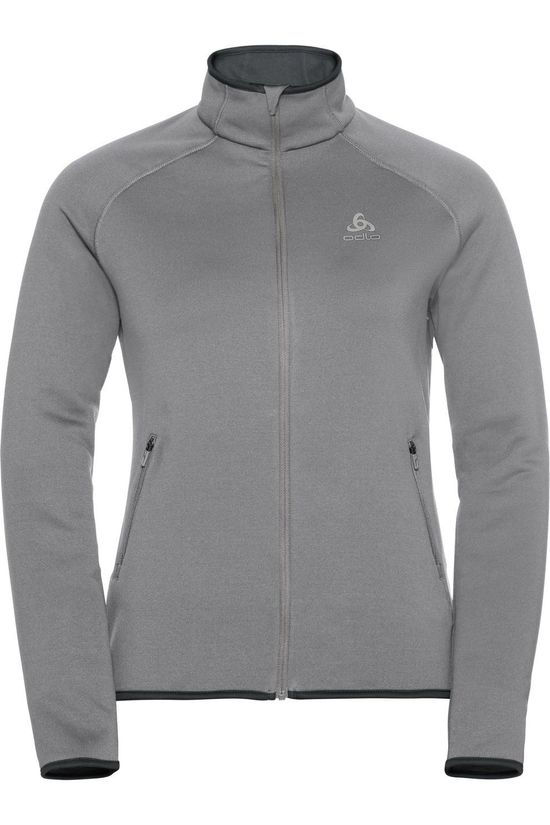 Odlo Fleece Carve Ceramiwarm Mid Grey/Marle