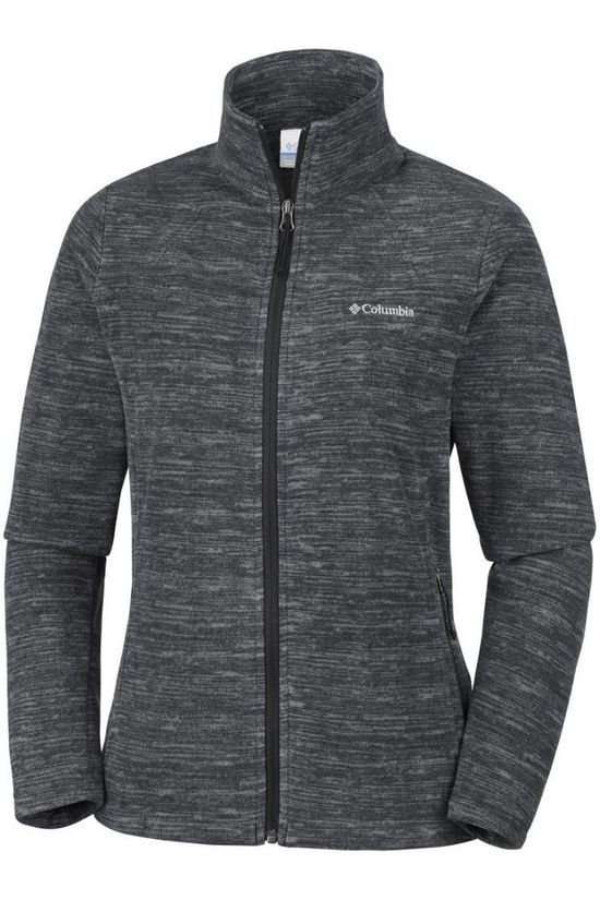 Columbia Fleece Fast Trek Light Zwart/Donkergrijs